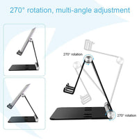 Dual Device Adjustable Tablet Stand