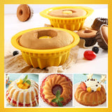 Silicone Baking Cake Mold 9 Inch pan