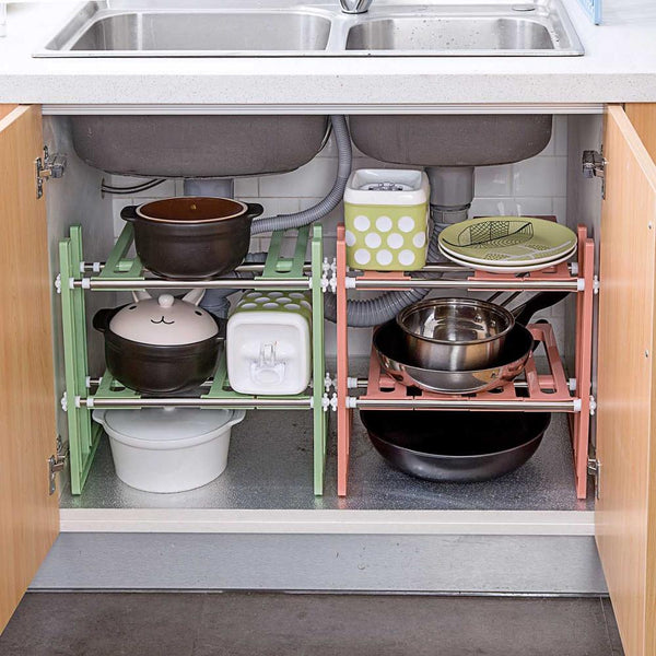 under sink storage rack