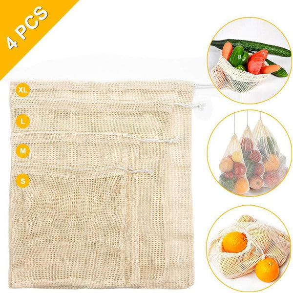 reusable vegetable storage bags