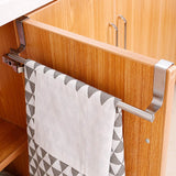 Towel Racks Over Kitchen Cabinet Door