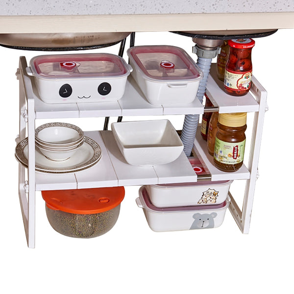 under sink storage shelving