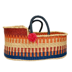 Sunset Bliss Handmade Moses Basket