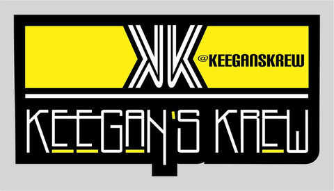Keegan's Krew Stickers
