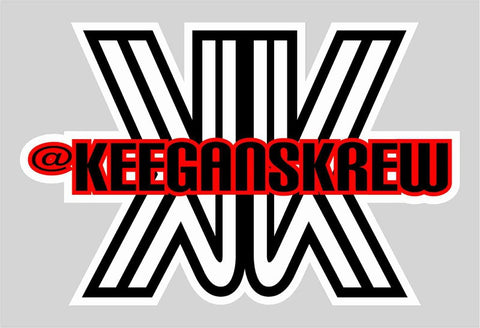 Keegan's Krew KK Sticker