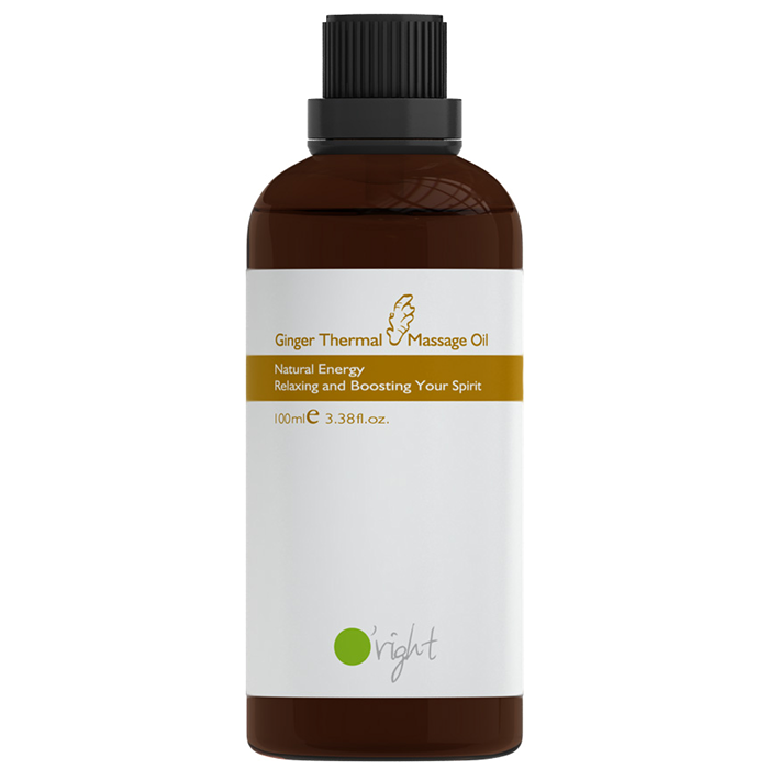 Ginger Thermal Massage Oil