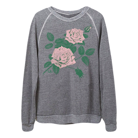 Roses (Adult) Eco Grey Champ Pullover