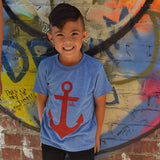 Anchor (Kids) Athletic Blue Tri-Blend