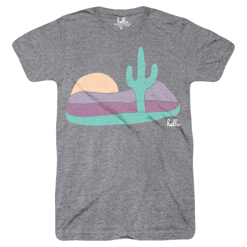 AZ Sunset (Adult) Heather Grey Tri-Blend