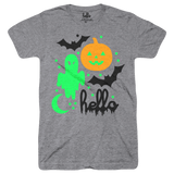 Halloween Glow Party (Adult) Heather Grey Tri-Blend T-Shirt