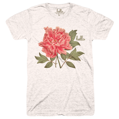 New Floral (Adult) Oatmeal Tri-Blend