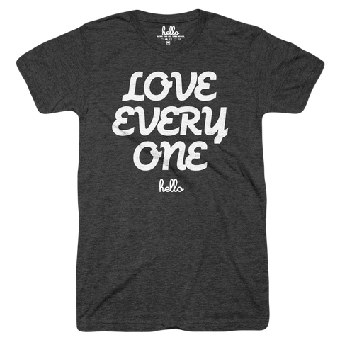 Love Everyone (Kids) Black Tri-Blend