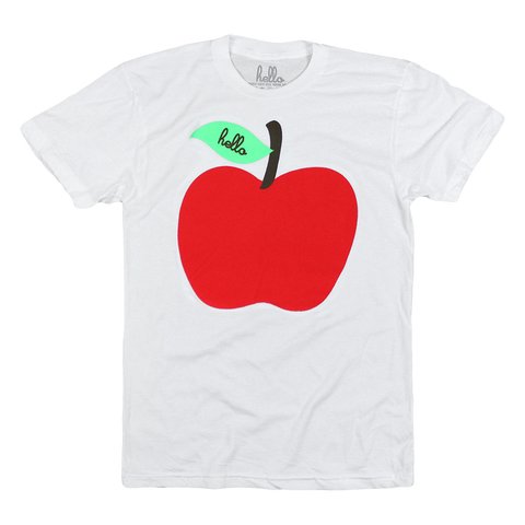 Apple (Adult & Kids) White T-Shirt