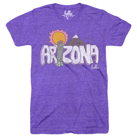 Hello Arizona (Kids) Orchid Tri-Blend