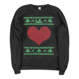 Hello Holidays (Adult) Eco True Black Champ Pullover