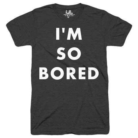 I'm So Bored (Kids) Black Tri-Blend