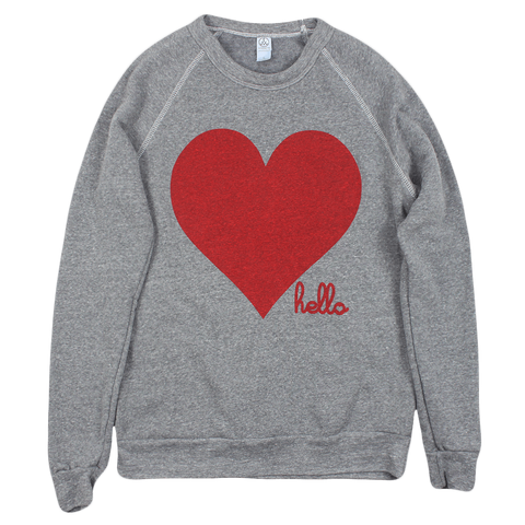 Red Heart (Adult) Eco Grey Champ Pullover