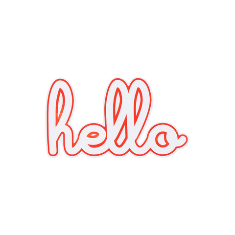 Hello Logo Sticker