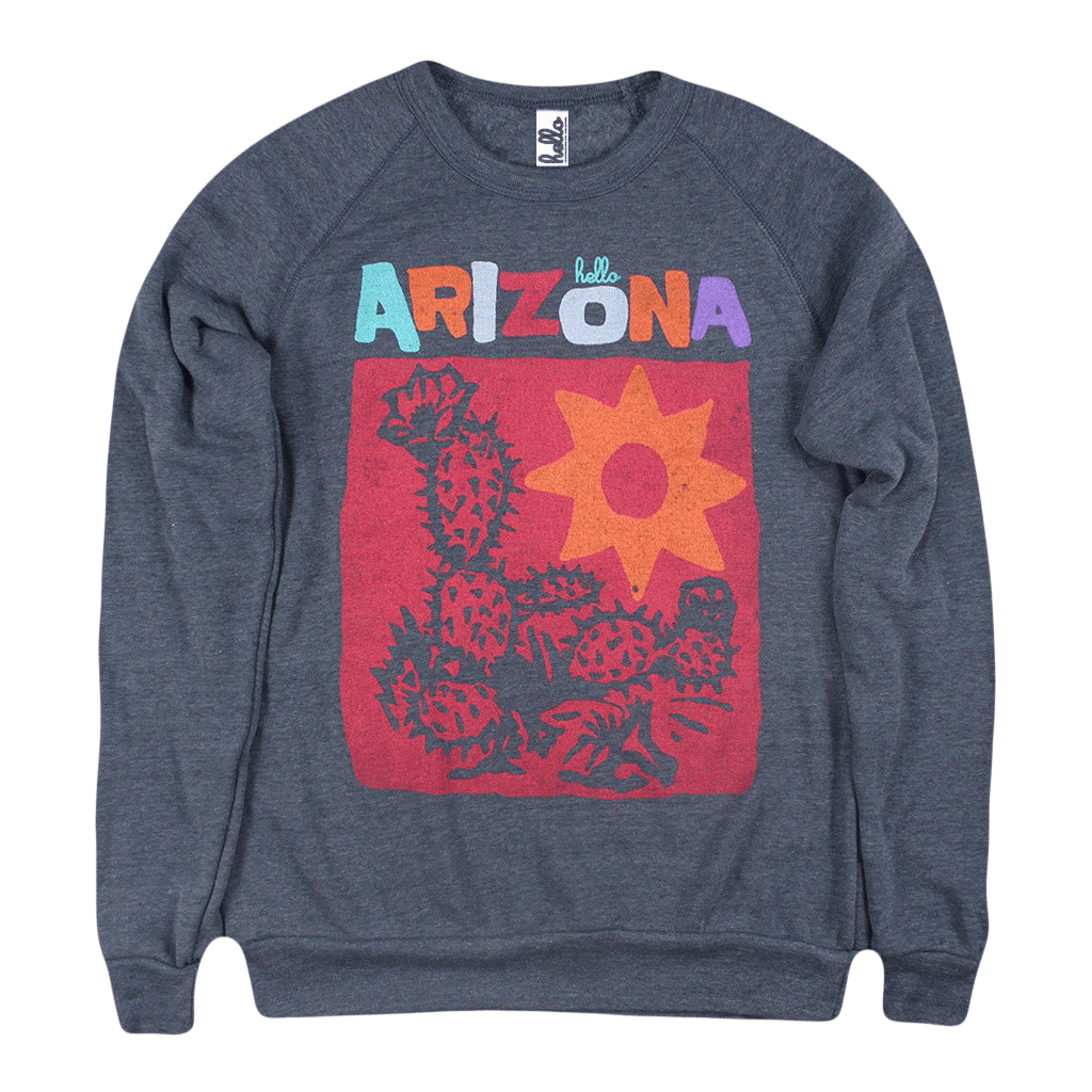 Hello Arizona JITT Edition (Adult) Eco True Navy Champ Pullover