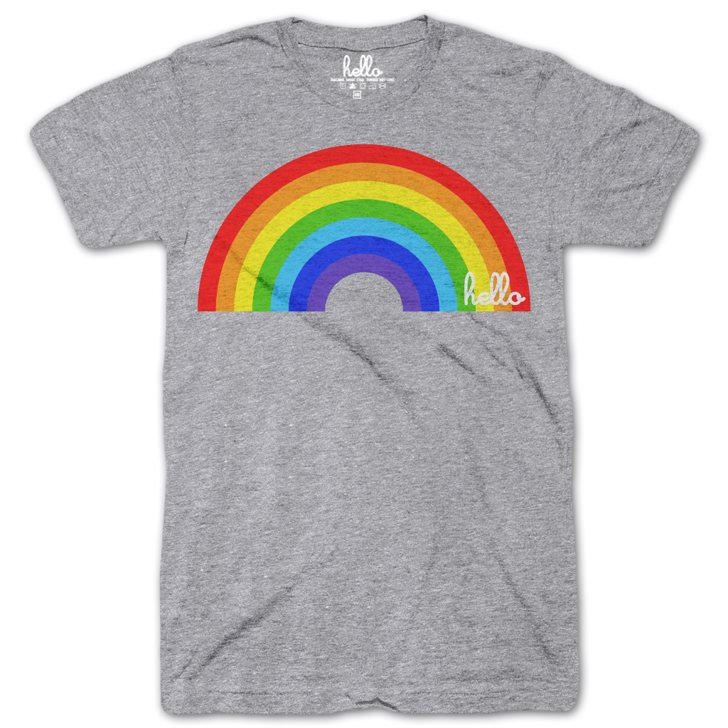 Rainbow (Adult & Kids) Grey Tri-Blend