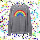 Rainbow (Adult) Eco Grey Champ Pullover