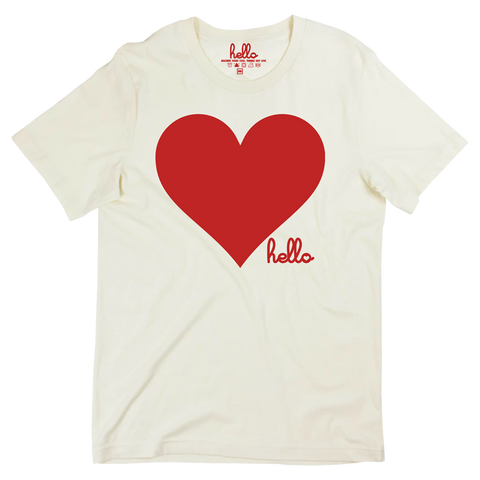 Heart (Adult) Natural T-Shirt