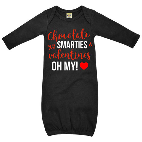 Chocolate Smarties Valentines Oh My!
