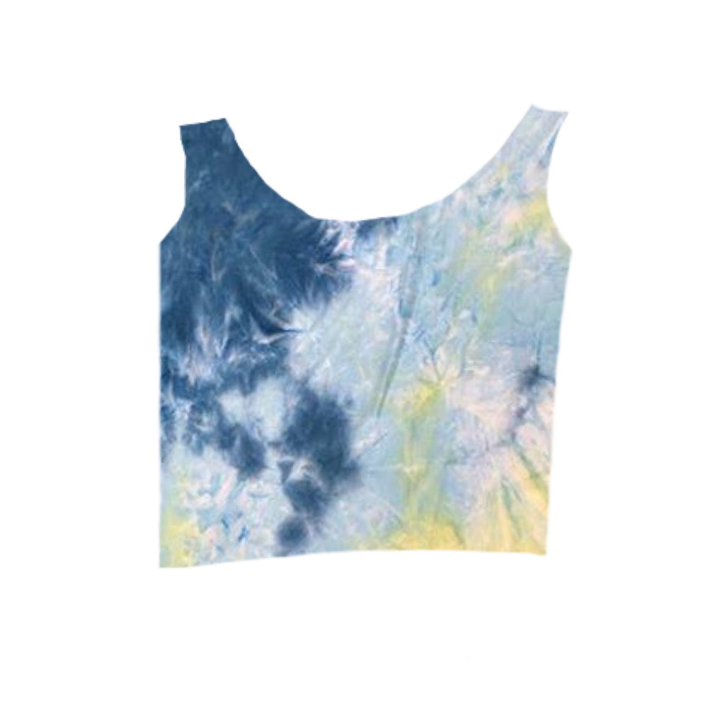 BLUE/YELLOW TIE DYE