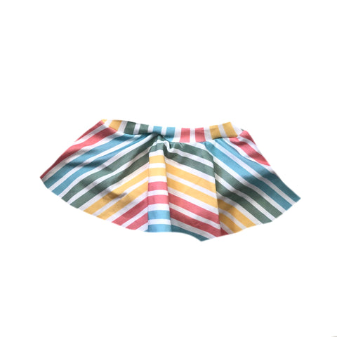 RETRO STRIPES SPANDEX BOARD SHORT/EUROS