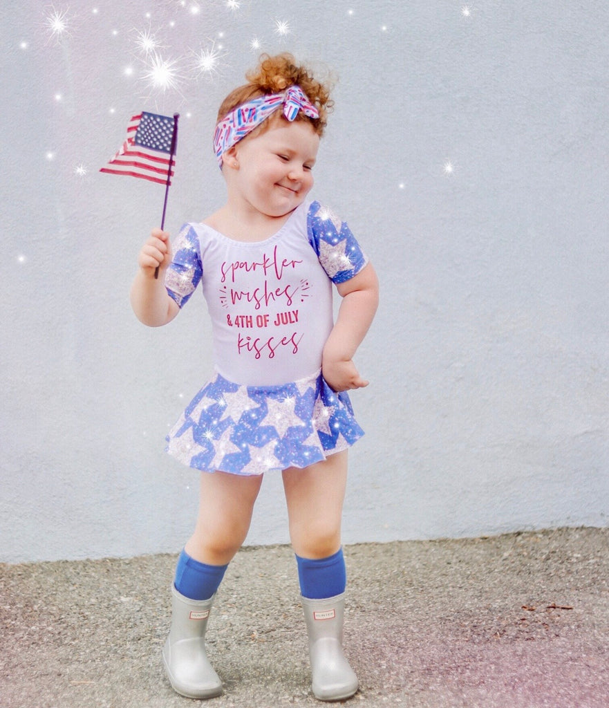 SPARKLER WISHES & 4TH OF JULY KISSES