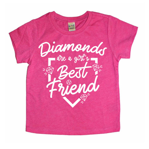 DIAMONDS ARE A GIRLS BEST FRIEND