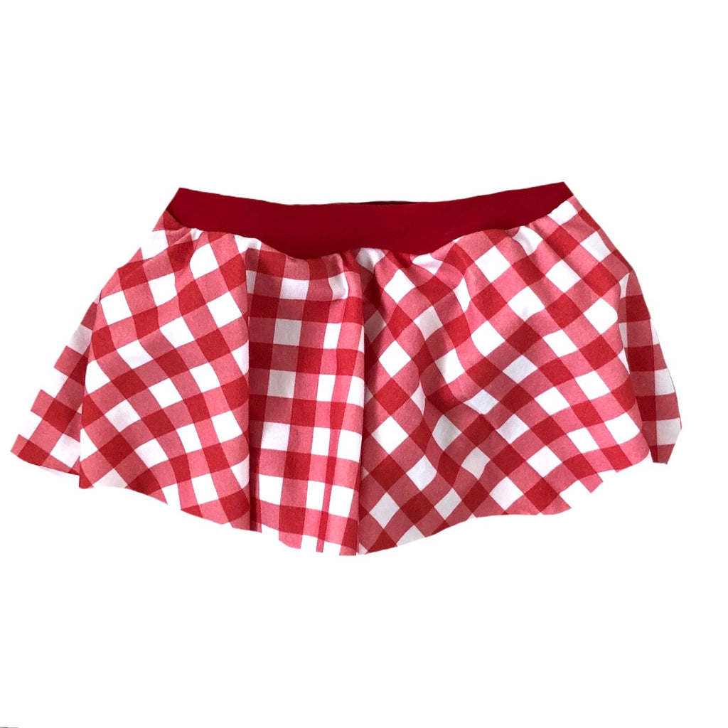 HOLIDAY RED GINGHAM