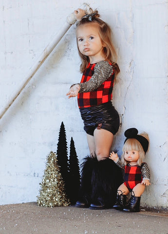 MINIKANE FESTIVE BUFFALO PLAID