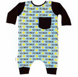 CHICK MAGNET ON RAGLAN/ROMPER