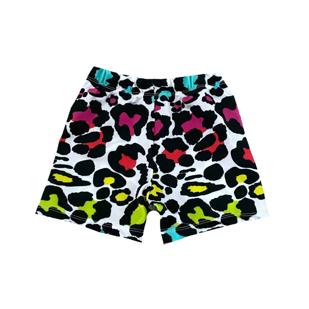 EXCLUSIVE DBLC NEON CHEETAH BOARD SHORT/EUROS SWIM