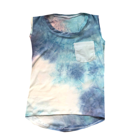 COTTON CANDY TIE DYE HIGH LOW