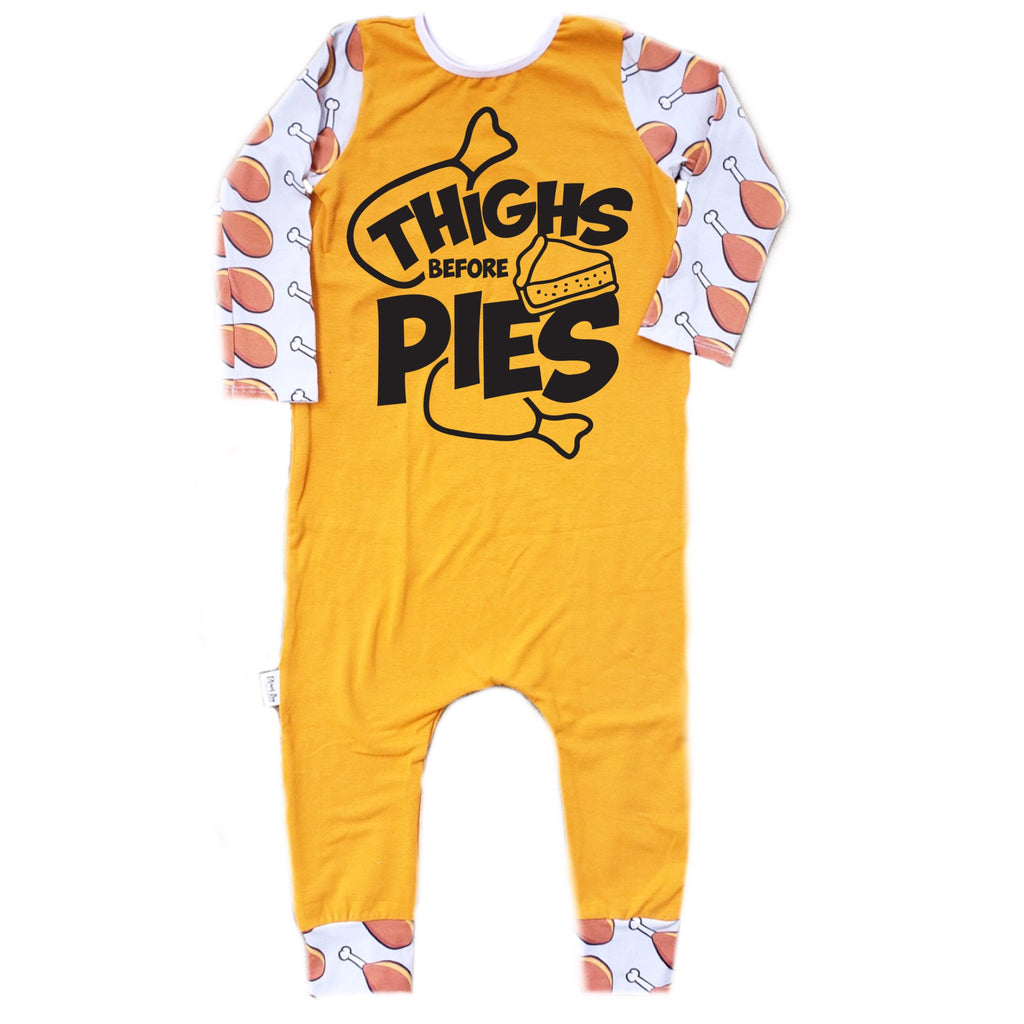 THIGHS BEFORE PIES