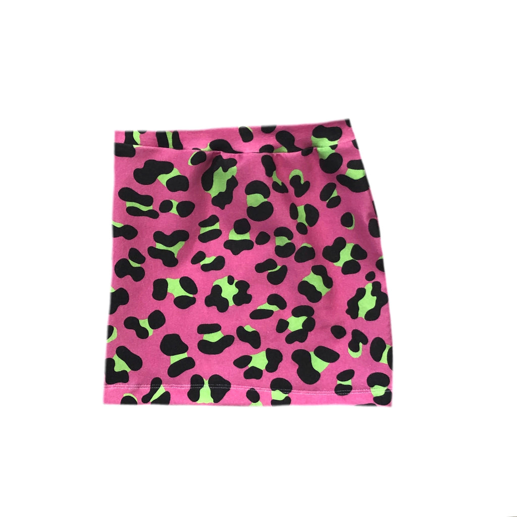 PINK/LIME LEOPARD