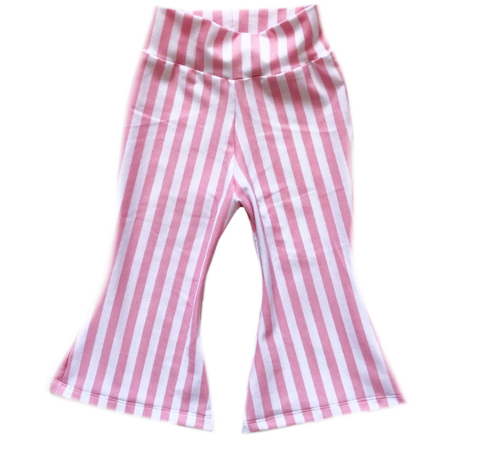 PINK/WHITE STRIPE  BELL BOTTOMS
