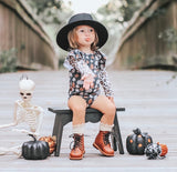 LEOPARD PUMPKINS WITH LEOPARD FLUTTER SLEEVE