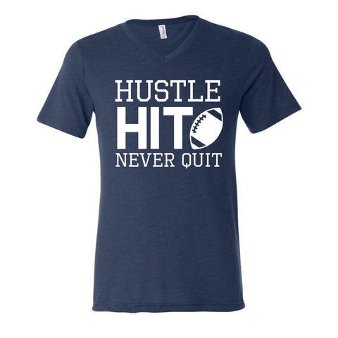 HUSTLE HIT NEVER QUIT