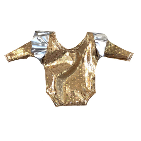 MINIKANE NEW YEARS FOIL FLUTTER LEOTARD