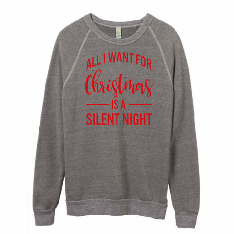 All I want for Christmas is a silent night