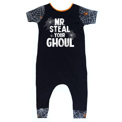 MR. STEAL YOUR GHOUL ON RAGLAN/ROMPER