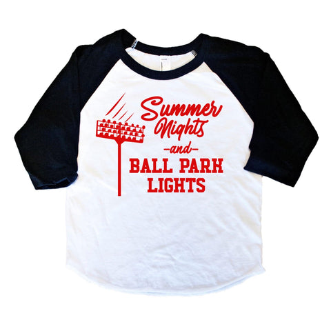 SUMMER NIGHTS AND BALL PARK LIGHTS