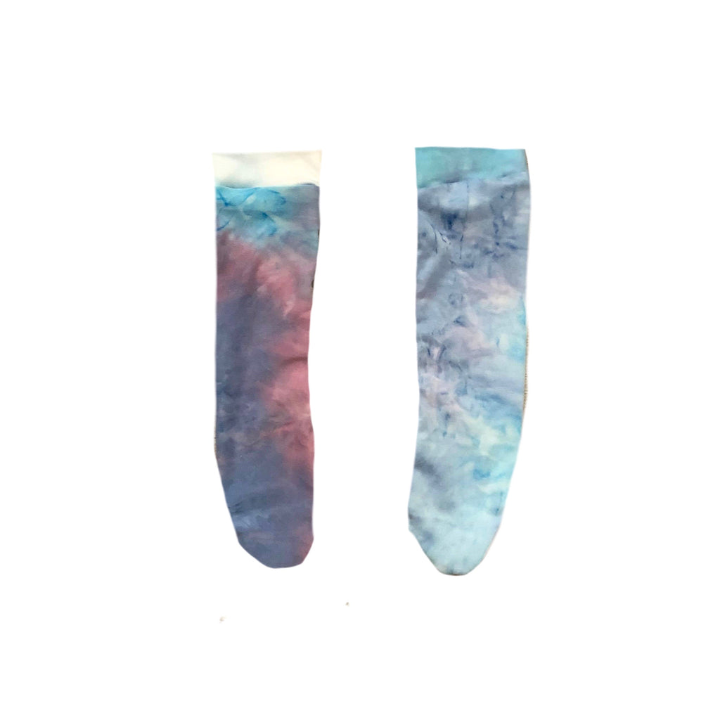 TIE DYE PICK YOUR PRINT KNEE HIGHS