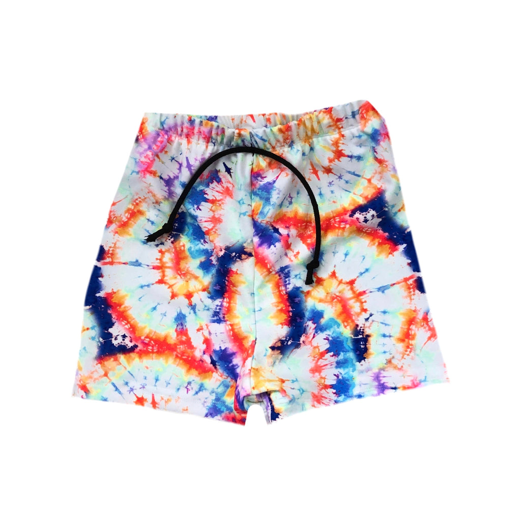 FUN DAYS TIE DYE SPANDEX BOARD SHORT/EUROS