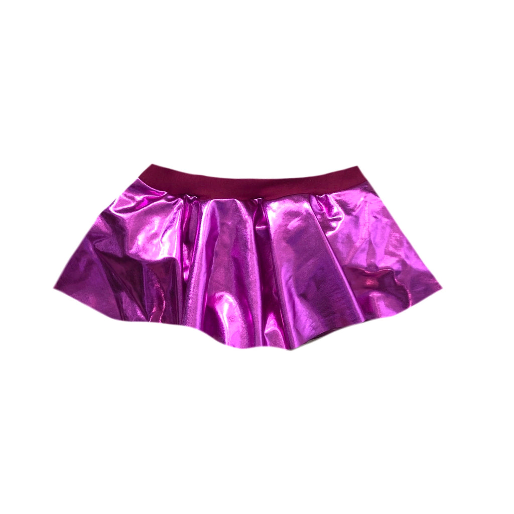 FOIL SKIRTED BUMMIES