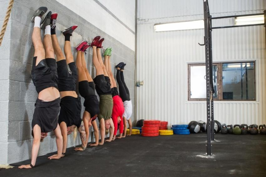 Steps To Getting Your Handstand Push Up!