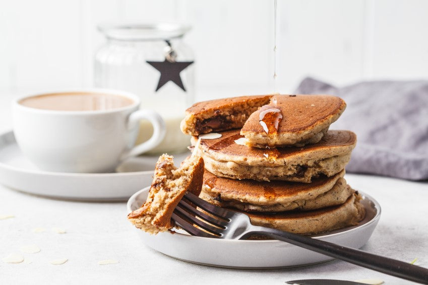Grass-Fed No Grain Whey Protein Pancakes